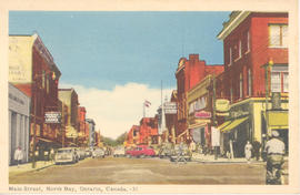 Main Street, North Bay, Ontario, Canada.--31.