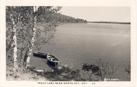 Trout Lake near North Bay, Ont. 24.