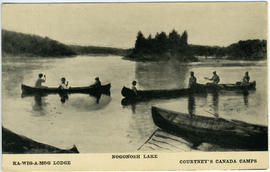 Ka-wig-a-mog Lodge, Nogonosh Lake, Courtney's Canada Camps.