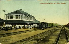 Union Depot, North Bay, Ont., Canada