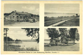 Sunnside Camps on Lake Nosbonsing, Bonfield, Canada.--1.
