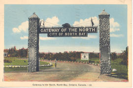 Gateway to the North, North Bay, Ontario, Canada.--20.
