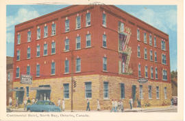 Continental Hotel, North Bay, Ontario, Canada.