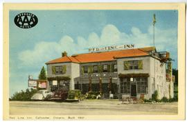Red Line Inn, Callander, Ontario, built 1937