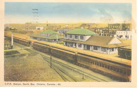 C.P.R. Station, North Bay, Ontario, Canada--65.