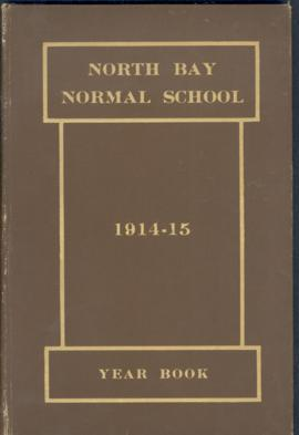 North Bay Normal School / 1914-15 / year book