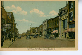Main Street. North Bay, Ontario, Canada--24.