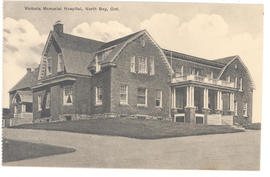 Victoria Memorial Hospital, North Bay, Ont.