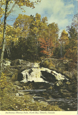 Duchesnay (Sheeny) Falls, North Bay, Ontario, Canada