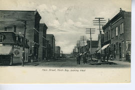 Main Street. North Bay, Looking West