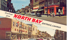 Greetings from North Bay (The Gateway to Northern Ontario), Ontario, Canada.