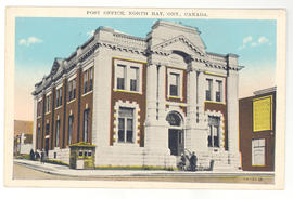 Post Office, North Bay, Ont., Canada.