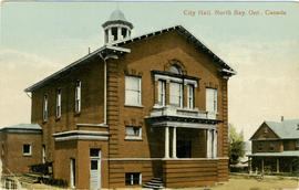 City Hall, North Bay, Ont., Canada. 105.373 J.N.
