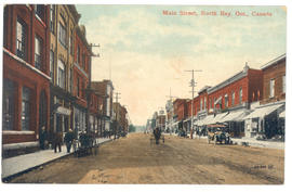 Main Street, North Bay, Ont., Canada