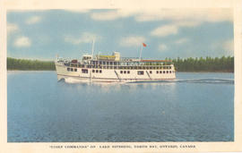 """Chief Commanda"" on Lake Nipissing, North Bay, Ontario, Canada."